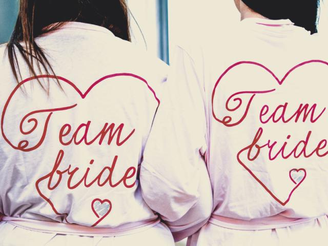 Bridesmaids at Nuthurst Grange
