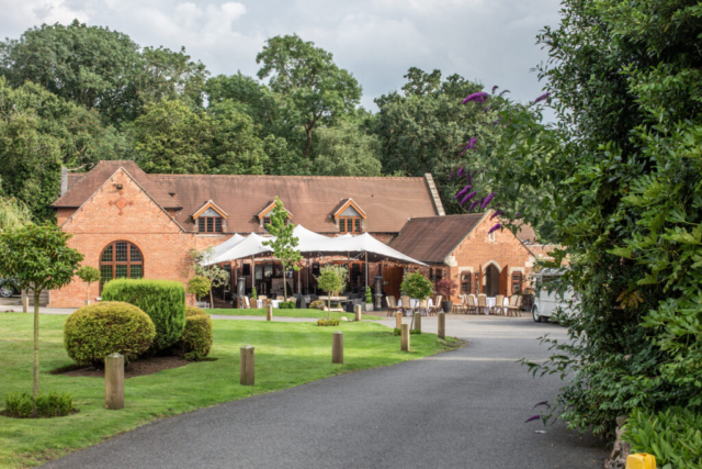Perfect wedding venue at Nuthurst Grange