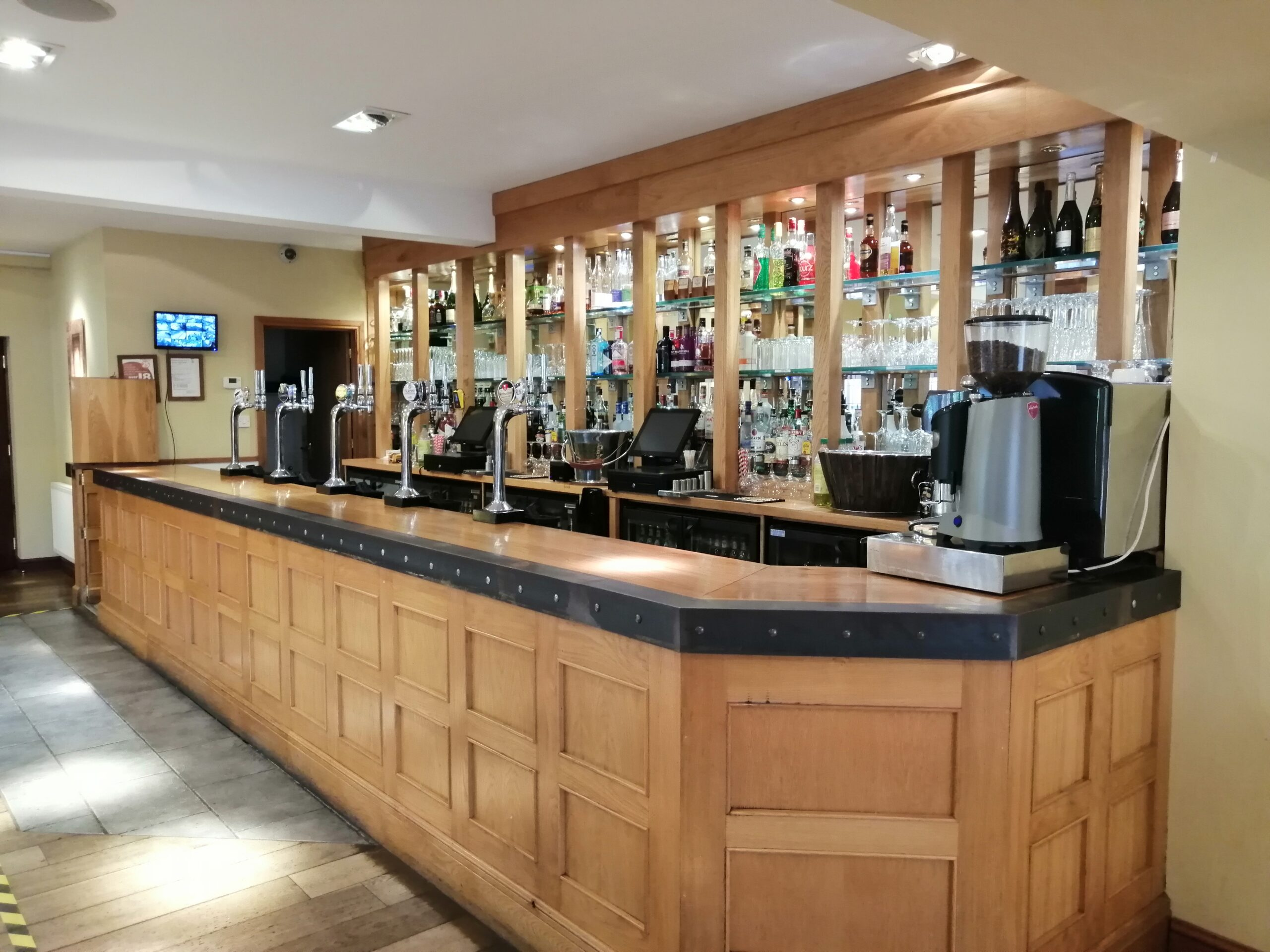 The Stables bar at Nuthurst Grange Hote